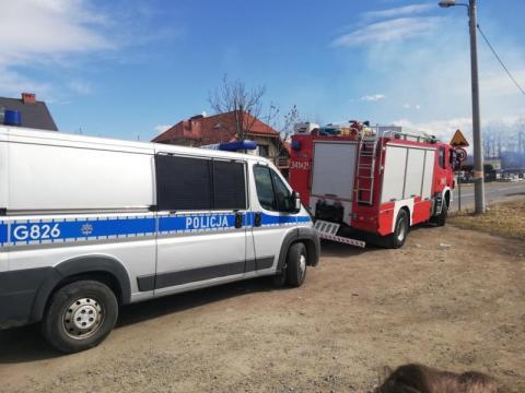 Spłonął żywcem w blaszanym garażu. Strażacy znaleźli jego zwęglone ciało