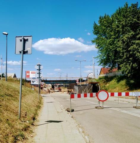 wiadukt przy ul. Zielonej w Nowym Sączu, fot. Justyna Hejmej