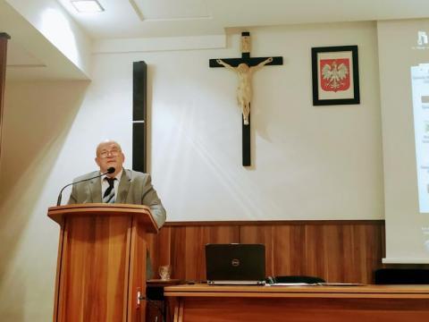 seminarium w Starym Saczu, fot. Justyna Hejmej