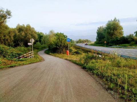 ścieżka rowerowa w Starym Sączu, fot. Justyna Hejmej