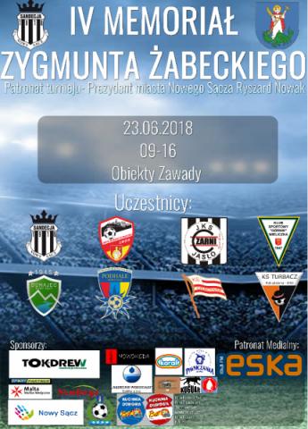 IV Memoriał Zygmunta Żabeckiego już 23 czerwca