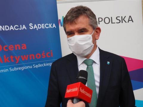 Jacek Lelek, burmistrz Starego Sącza