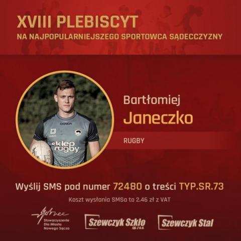 Prezentacja finalistów: A. Baran, Ł. Pławecki, K. Zwolińska, B. Janeczko