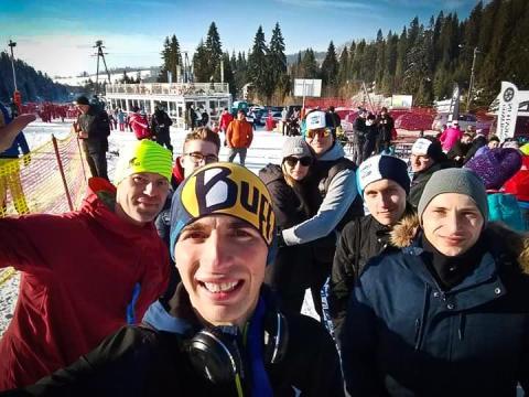"""Janusz Gawron, zdobywca III miejsca na """"Turbacz Winter Trail 2020"""""""