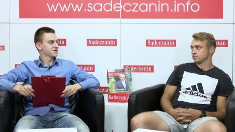 O boksie i pierwszych walkach na zawodowym ringu rozmawiamy z Kacprem Salaburą.