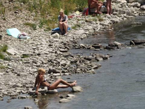 Bakterie czają się w sądeckich rzekach? Gdzie jest najcieplejsza woda?