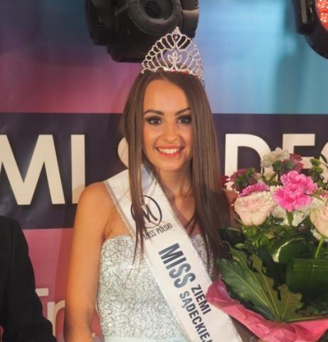 Przecudnej urody Kinga Choma – Miss Ziemi Sądeckiej 2017 zdradza nam swoje sekrety