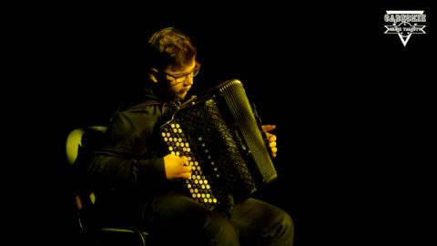 Kacper Wąs wyrasta na akordeonowego mistrza!