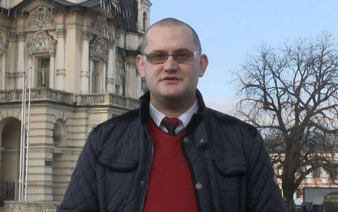 Michał Kądziołka chce zatrzymać osuwisko na Zalesiu. Wydał też gazetkę i zrobił film