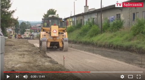 Nowy Sącz: Przebudowa Kolejowej - czy drogowców zatrzymają kable?