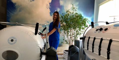 Tlenoterapia hiperbaryczna! Rozmowa z dr Magdaleną Cubałą-Kucharską