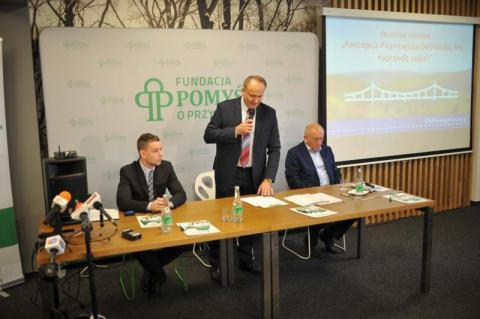 Konferencja Fundacji Pomyśl o Przyszłości w sprawie nowej obwodnicy Nowego Sącza