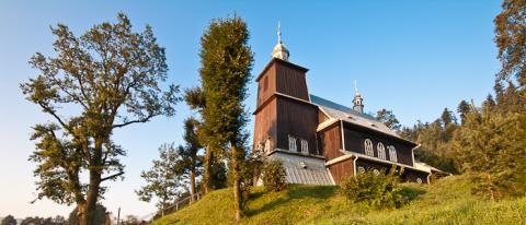 Będąc w Kąclowej warto zobaczyć ten kościół