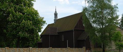 Kościół w Wilczyskach zosatał zbudowany w 1605 roku.