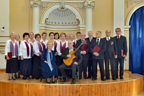 Kryniccy Seniorzy śpiewają z potrzeby serca