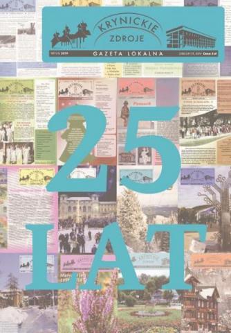 Krynica: Krynickie Zdroje, kronika życia miasta ma 25 lat