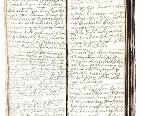rękopis kolegiaty sądeckiej wycofany z aukcji, fot. Karol Lizak