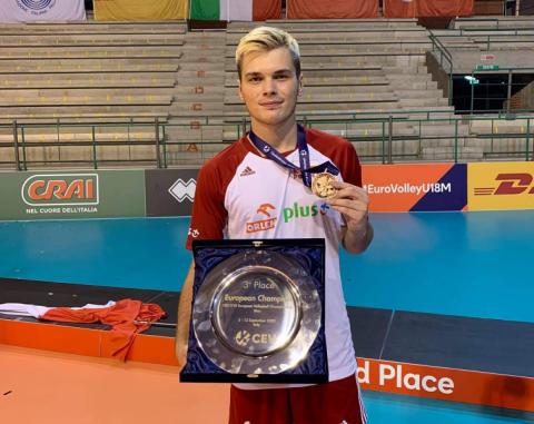 Sądecki siatkarz z brązowym medalem Mistrzostw Europy!