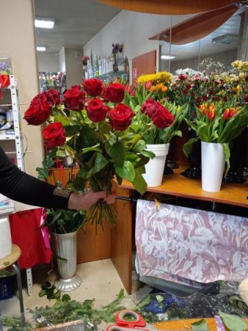 Kwiaciarnia w Gródku oblężona. Dziś 8 marca!