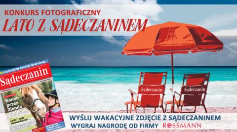 """Konkurs fotograficzny """"Lato z Sądeczaninem"""""""