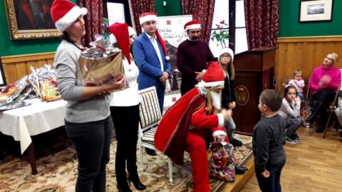 Święty Mikołaj na osiedlu Piątkowa