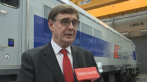 Prezes PKP Krzysztof Mamiński o Newagu i nowosądeckiej kolei