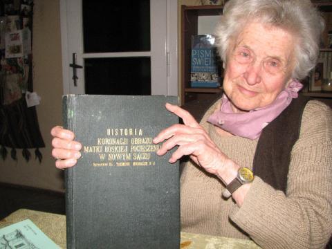 Maria Giza-Podgórska otrzyma Tarczę Herbową Zasłużony dla Miasta Nowego Sącza