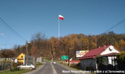 Maszt Niepodległości na Górze Zabełeckiej
