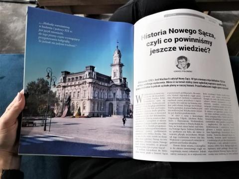 Dr Łukasz Połomski: co jeszcze powinniśmy wiedzieć o historii Nowego Sącza?
