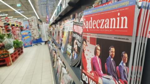 """Miesięcznik """"Sądeczanin"""" kupisz też w Carrefour w Galerii Sandecja"""