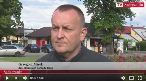 Grzegorz Mirek: Kolejowa to dopiero początek tegorocznych inwestycji [FILM]