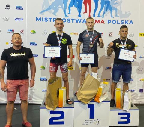 Brawo! Sądeczanie Kamil Szkaradek i Rafał Dudek wygrali swoje kolejne walki