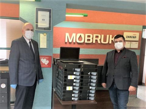 Spółka Mo-BRUK ufundowała 22 komputery. W ten sposób wspiera szkołę w Korzennej