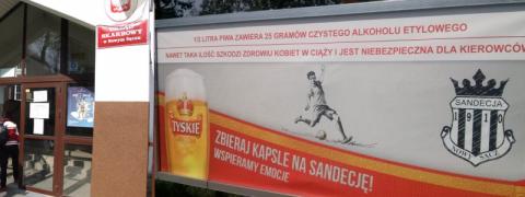 """Nowy Sącz: """"Podatek piwny"""" - reklamujesz alkohol zapobiegasz alkoholizmowi"""