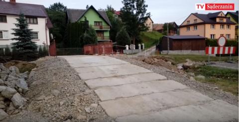 Łomnica-Zdrój: Kiedy będzie gotowy most na Łomniczance? [WIDEO]