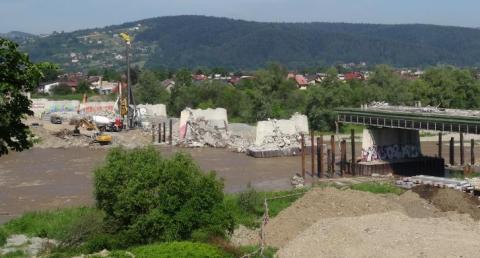 Most zastępczy na Dunajcu? Wody Polskie studzą zapał prezesa Fakro