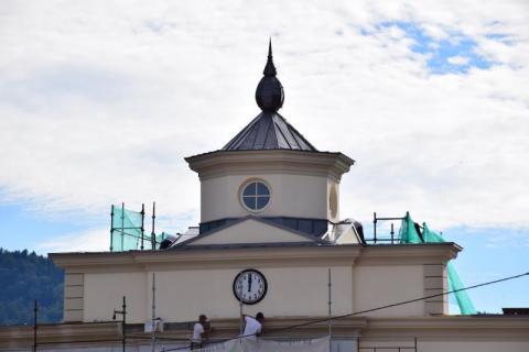 czytaj też:czytaj też:Muszyński ratusz ma zegar, płyta rynku i ulice przyległe już odnowione Dobra wiadomość dla cyklistów. Ścieżka rowerowa i kładki na Popradzie czekają