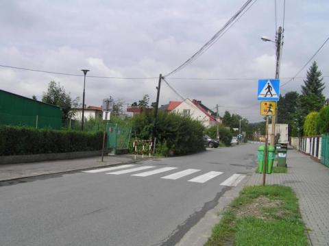 doświetlone przejścia dla pieszych, fot. Iga Michalec