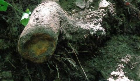 Znaleziono niewybuch w Maciejowej