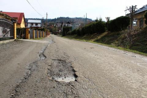 Gmina Łabowa: tutaj też wyremontują drogę za rządowe pieniądze. Kto skorzysta?