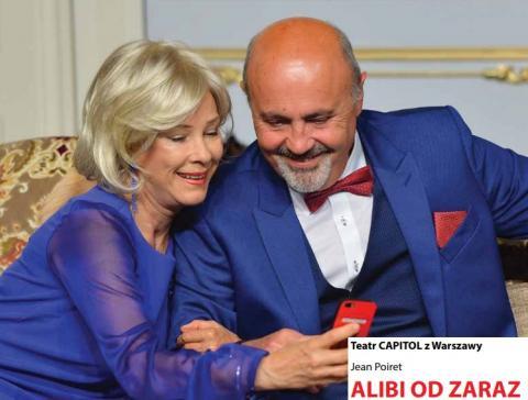 """Słomiany wdowiec w tarapatach czyli """" Alibi od zaraz"""" teatru Capitol"""