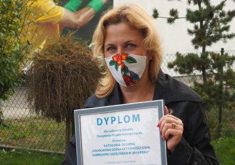 Magdalena Majka, Nowy Sącz. Ocena Aktywności Gmin 2020