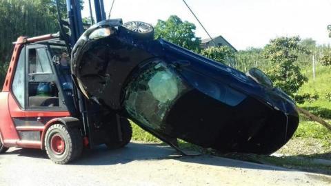 Wypadek w Janowicach