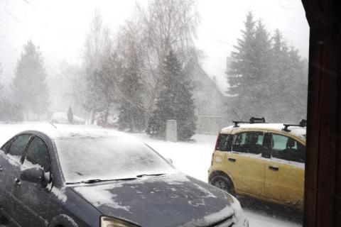 Hu! hu! ha! Nasza zima zła. Śnieżyca przeszła nad Nowym Sączem