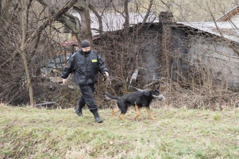 Zaginął 67-letni z gminy Chełmiec. Policjanci znaleźli go w potoku