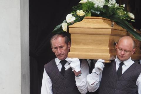 Pogrzeb Kamila Pierzchały