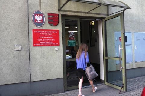 Wydział Geodezji_Starostwo Powiatowe w Nowym Sączu