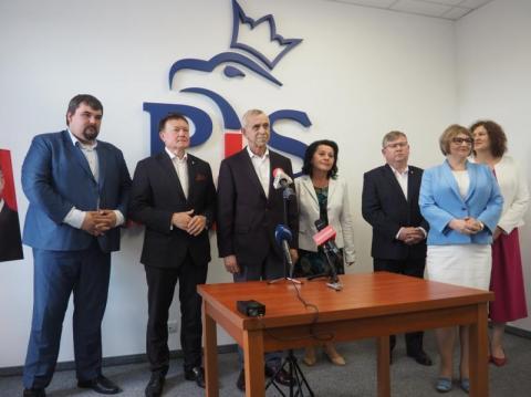 Powódź na fali prezydenckiej kampanii, czyli obietnice sądeckich polityków PiS
