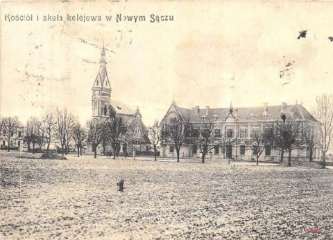 Czarno-biała Sądecczyzna (18). Nowy Sącz przed I wojną światową