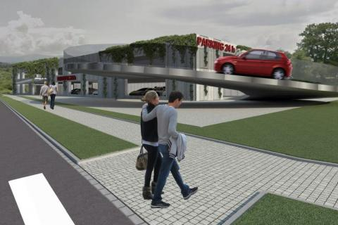 Nowy Sącz: koniec złudzeń w sprawie wielopoziomowego parkingu w centrum